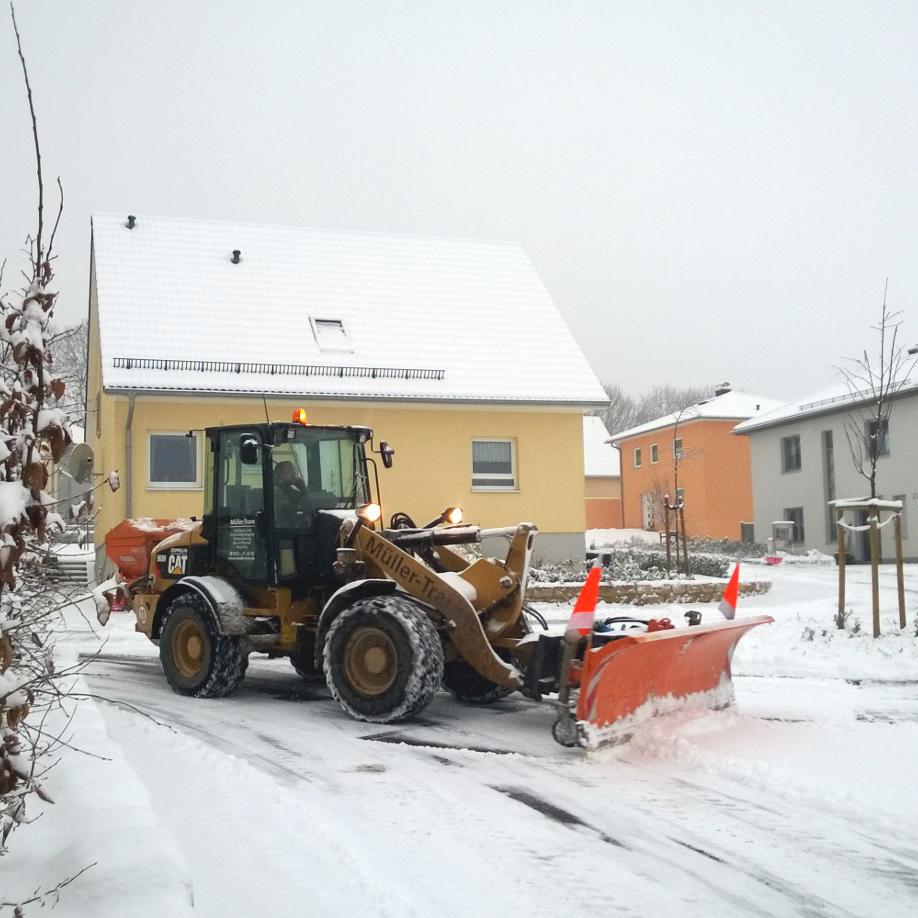 Häufig Winterdienst Dresden - Rund um Service von Müller Trans JM97